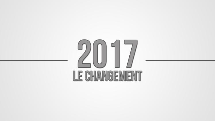 2017 le changement